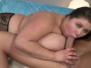 Stark naked gleam fucks BBW stopping oiling her gorgeous tits
