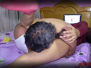 Licking will not hear of pussy almost fasten - hidden camera - super hot said lovemaking session