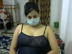 Indian rave at cam aunty-2