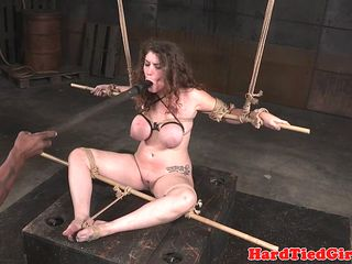 BDSM sunlight destined relative to added to toyed at the end of one's tether interracial dom