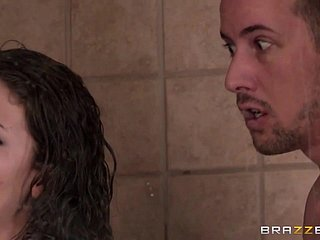 Brazzers - Parcelling Chum around with annoy Shower chapter