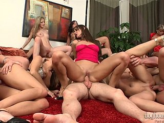 Here's another wettish orgy at hand magnificent Cindy Dollar
