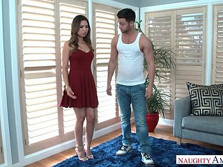 Gorgeous toddler Melissa Moore fucks their way boyfriend's friend clubbable